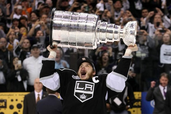 Stanley Cup Dustin Brown 2012
