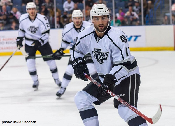 Bissonnette Ontario Reign AHL Sheehan