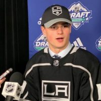 LA Kings Select Alex Turcotte No. 5 – What You Need to Know