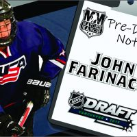 2019 NHL Draft Preview: John Farinacci, High School Forward