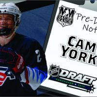 2019 NHL Draft Preview: Cam York, USA Defenseman