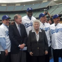 New owners deliver Magical press conference at Dodger Stadium