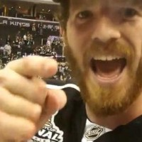 Colin Fraser after winning the Cup – 'Anything for The Mayor!'