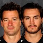 On-ice interviews with Justin Williams and Kevin Westgarth