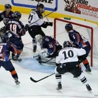 Ontario Reign at Wranglers ECHL MayorsManor