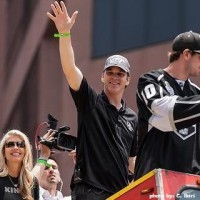 Luc Robitaille Kings Stanley Cup parade by Ikiri