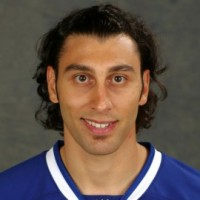 Dwight King and a Roberto Luongo look-a-like contest