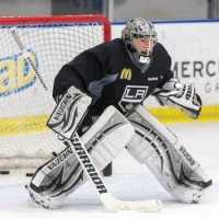 Jonathan Quick on making the nets bigger