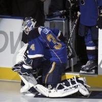 Ben Bishop's NHL debut vs LA Kings, thank you Sarah Palin