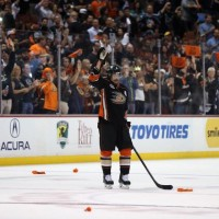 Handshake Line: Teemu mic'd up after Kings-Ducks Game 7