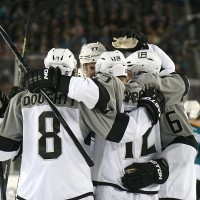 Doughty Talks Up Gaborik and Shore after Stadium Series Game