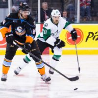 Ritchie scores game-winner as Gulls overpower Stars in Game 1