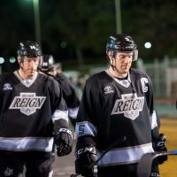 Recap: Reign – and RAIN – vs Condors in AHL Outdoor Classic