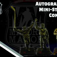 CONTEST: Win a Trio of Autographed LA Kings Mini-Statues